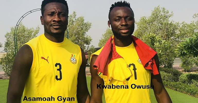 Asamoah Gyan Blasts Kwabena Owusu For Confirming Black Stars Players Pocketed $20k As Appearance Fee