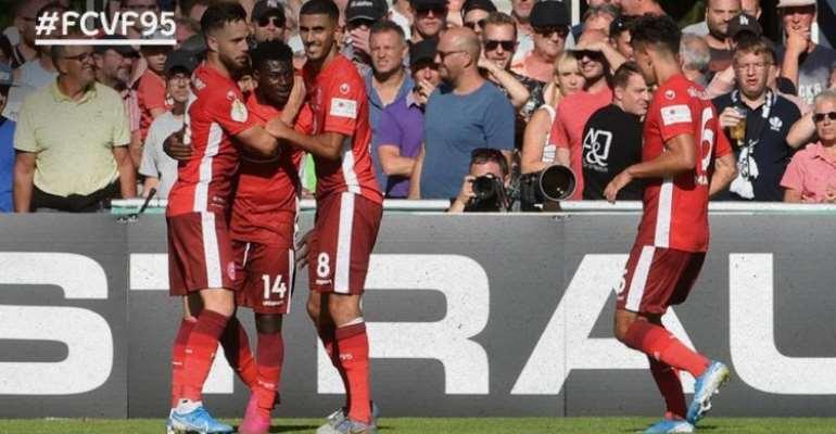 Nana Ampomah And Kelvin Ofori Score For Fortuna Dussedorf In DFB CUP Win