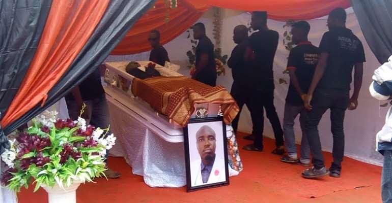 Renowned Sports Journalist 'Evangelist' Kofi Appiah Laid To Rest [PHOTOS]