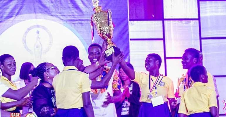 Mamfe Girls Beats Tema, Opoku Ware, To Win High School Entrepreneurship Competition.