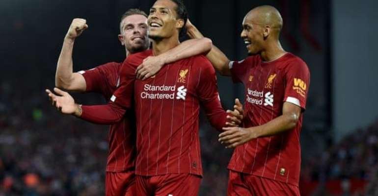 Dominant Liverpool Thrash Norwich In Season Opener