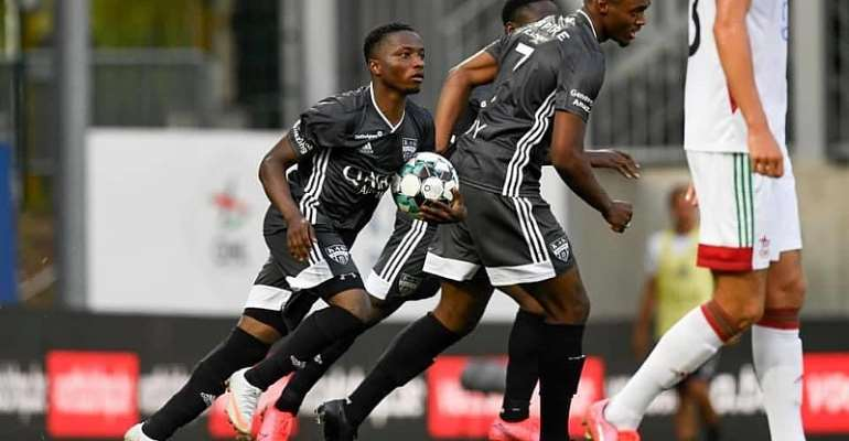 Ghanaian Teenager Isaac Nuhu On Target For K.A.S Eupen In Draw At Oud-Heverlee
