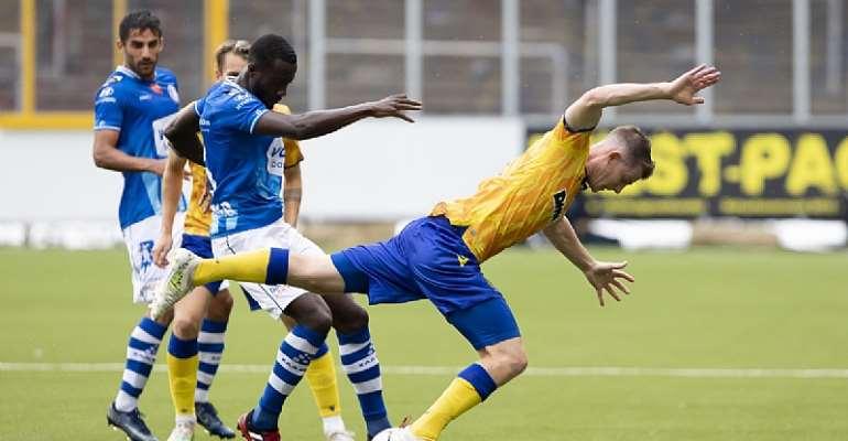 Gent Midfielder Elisha Owusu Bemoans Mistakes In Defeat To St. Truiden