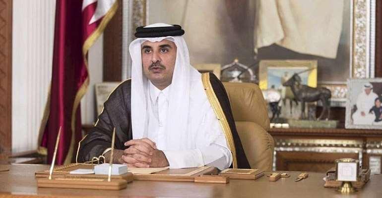 Emir of Qatar, His Highness Sheikh Tamim Bin Hamad Al-Thani