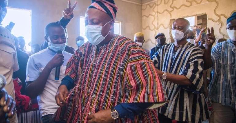 Mahama's 'Chief Of Truth' Title Holds – Bole Traditional Council