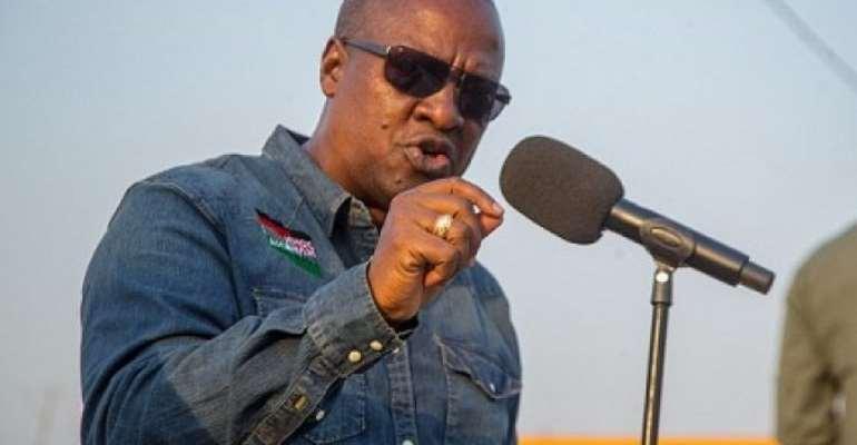 If Akufo-Addo Can Ask Domelevo To Go On Leave, He Can Do Same To CJ, EC And CHRAJ Bosses — Mahama