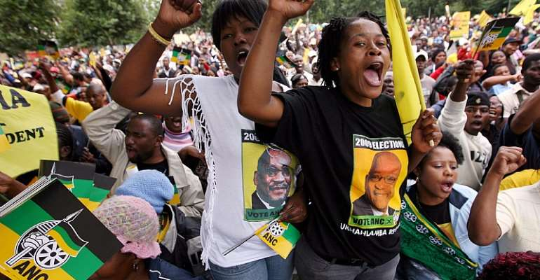 Political killings in the country are linked to the fierce competition for control of state resources within the governing ANC.  - Source: EPA-EFE/Jon Hrusha