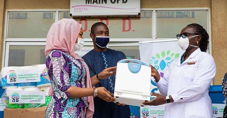 Bawumia's Wife Donates To LEKMA Hospital