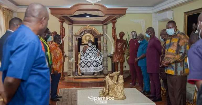 Otumfuo Warns New CEO Nana Yaw Amponsah Of Impersonations And Calls For A United Front