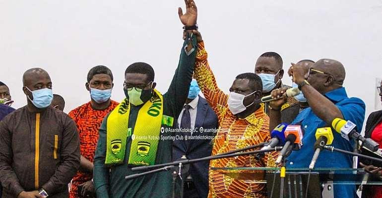 Nana Yaw Amponsah Vows To Make Asante Kotoko The Best Club In Africa