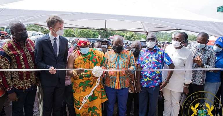 Akufo-Addo inaugurates $16 million 1D1F Tomato Factory in Berekum