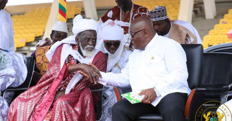 Remember the sacrifices of Prophet Ibrahim – Nana Addo to Muslims