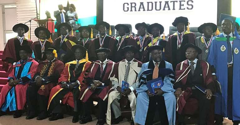 13 graduate from Accra Institute of Technology with PHDs