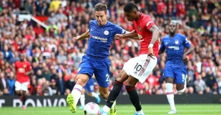 Rashford Double As Man Utd Spoil Lampard's Chelsea Debut As Boss