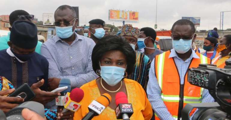 Ministry Of SanitationOn The Move To RidAccra DrainsOf Solid Wastes
