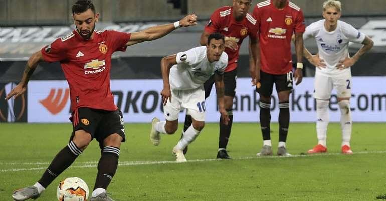 Europa League: Fernandes' Extra-Time Penalty Sends Man Utd Through