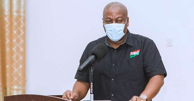 Mahama Wants Clemency For Pastor Jailed For Flouting COVID-19 Restrictions