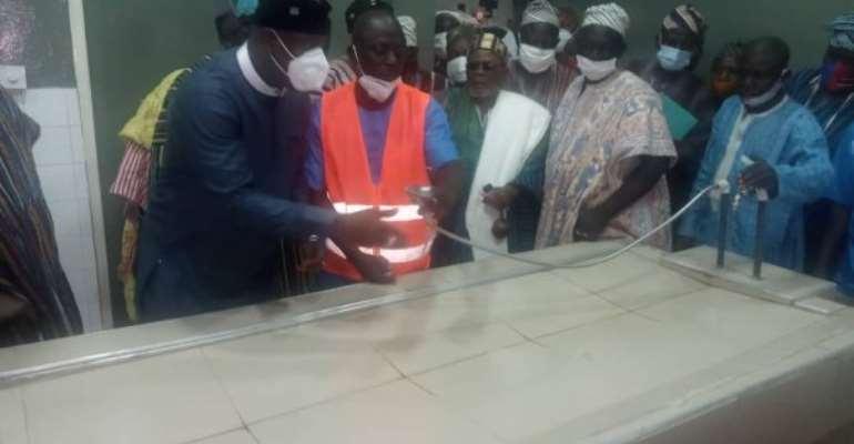 Farouk Aliu Mahama Refurbishes Yendi Hospital Mortuary