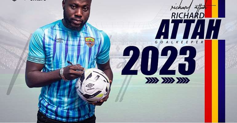 OFFICIAL: Goalkeeper Richard Attah Extend Hearts Of Oak Contract To 2023