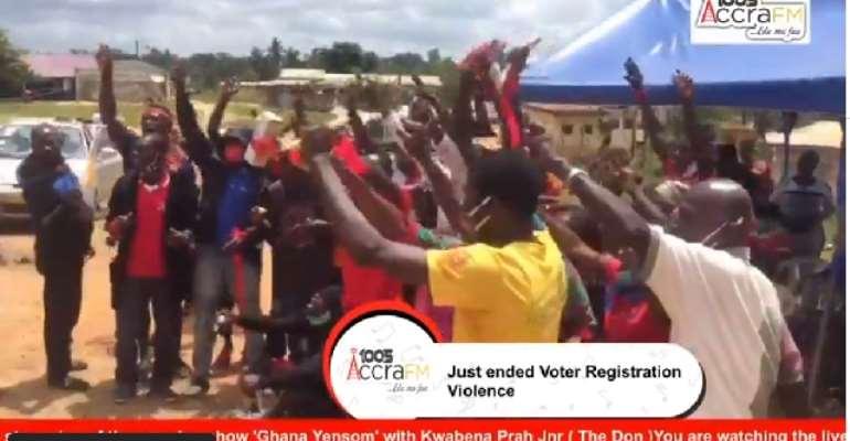 Teshie Youth Threaten To Spray Police With Faeces Over Homowo 'Jama' Ban