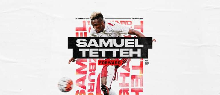 Striker Samuel Tetteh Completes Loan Move To  MLS Side New York Red Bulls