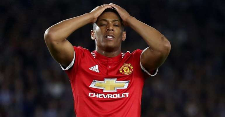 Jose Mourinho 'Doesn't Know' If Anthony Martial Will Return