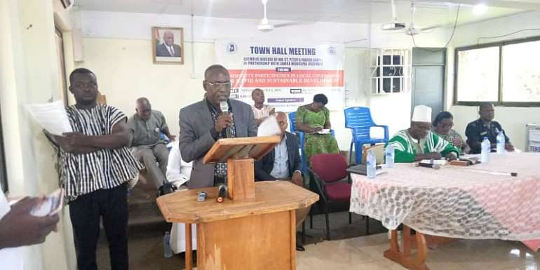 Catholic Justice And Peace Commission, Lawra Municipal Assembly To Hold Town Hall Meeting