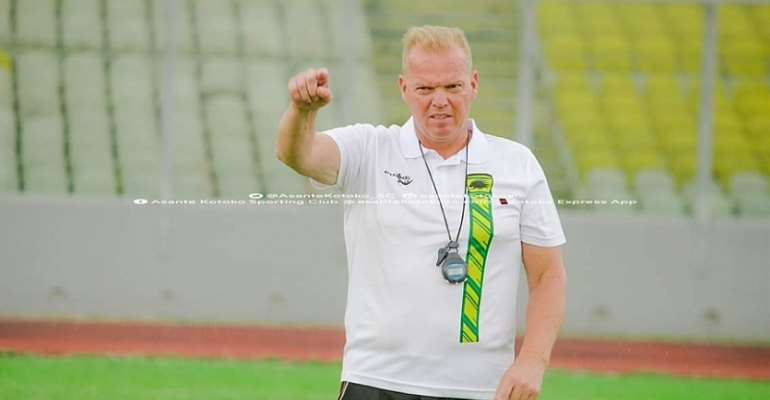 CAF CC: We Are Not Under Pressure To Perform, Says Kotoko Coach Kjetil Zachariassen