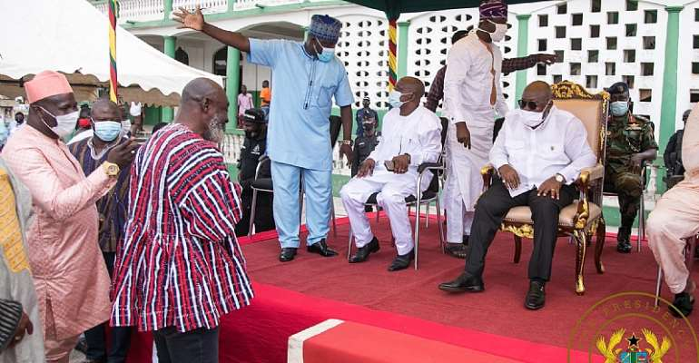 Akufo-Addo Promises More Developmental Projects For Zongo Communities