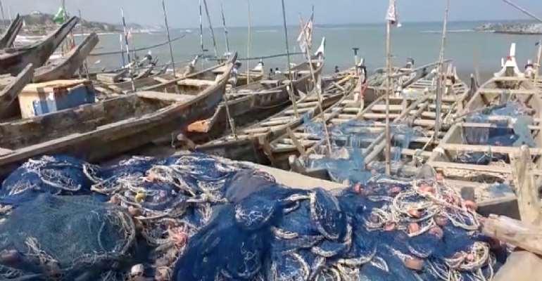 'We'll go hungry if we stop lightfishing' – Fishermen in Elmina, Cape Coast lament