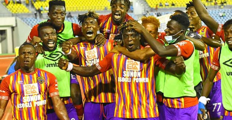 VIDEO: Hearts of Oak defeat Medeama SC 3-0 to advance to final of MTN FA Cup