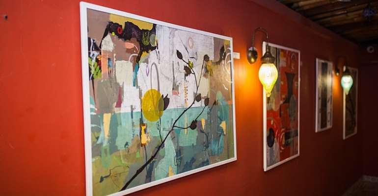 The Alabo-Moffet Foundation  holds debut solo art exhibition  for Artist Sheila Fuseini