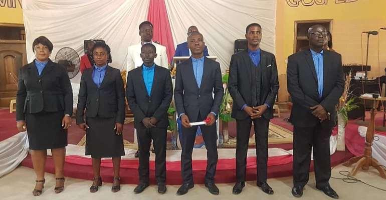 Moving Gospel Church International Ordains6 Pastors