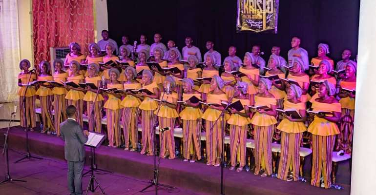 His Praise Chorale Inspires Patrons At Kristo Asore Nnwom 2019