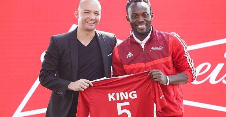 Shatta Wale Snubbed, Michael Essien Picked As Brand Ambassador Of BUDWEISER