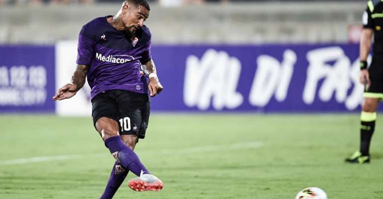 Kevin Prince Boateng Score And Assist As Fiorentina Thrash Galatasaray 4:1 In Pre-Season