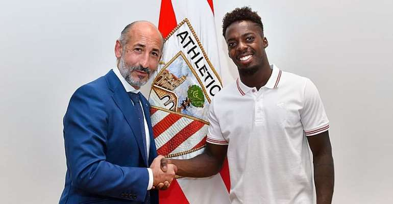 Inaki Williams Pens New Nine Years Contract Extension With Athletic Bilbao