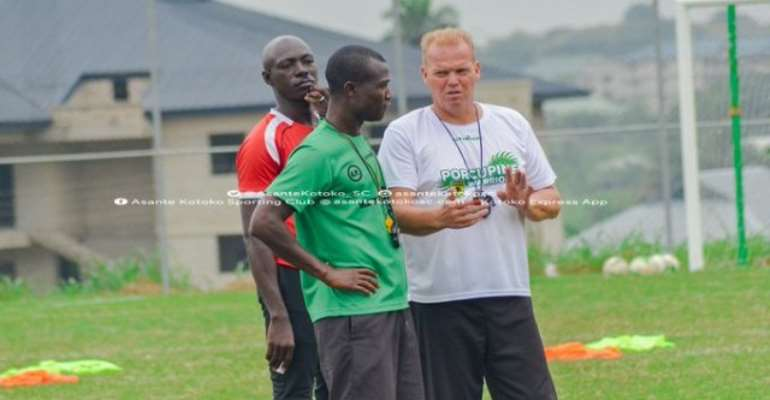 CAF Champions League: Kotoko Coach Pleased With Players Despite Kano Pillars Lose