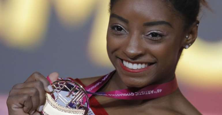 Simone Biles Is Officially The Most Decorated Gymnast In World History