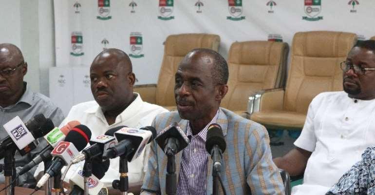 NDC Will Investigate Jean Mensa-led EC If Mahama Wins – Asiedu Nketia