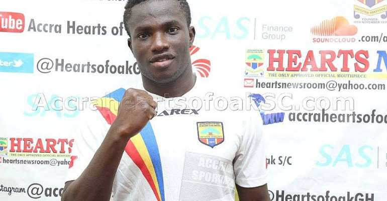 I Left Hearts of Oak Due To Coach Odoom's Tactics, Says Released Christopher Bonney