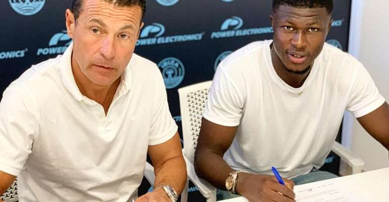 Midfielder Kwasi Sibo Delighted After Extending UD Ibiza Stay