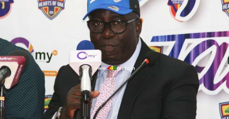 Harry Zakour Hails Hearts of Oak MD Frederick Moore For His Vision
