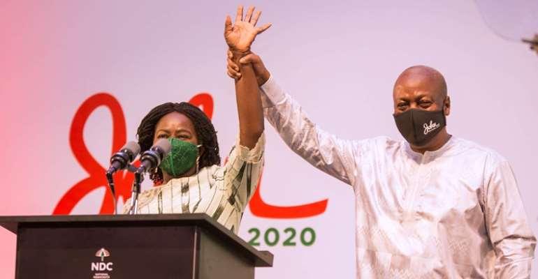 Jane Naana And I Won't Engage In Politics Of Insults – Mahama Pledges