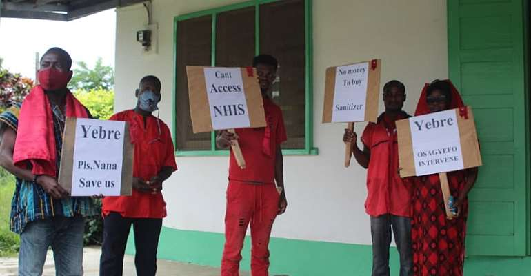 Bunso: UCAEs Staff Protest For Over One-Year Unpaid Salaries