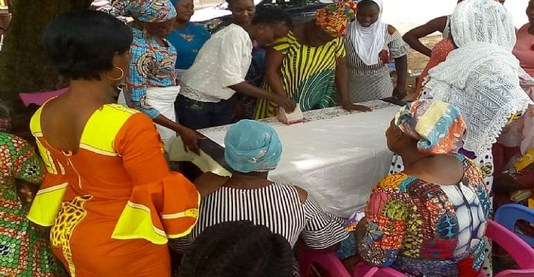 Business Resource Centre Trains 36 Women In Batik Tie And Dye Production