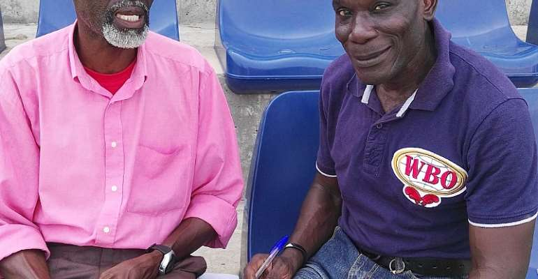 Exclusive Interview: Edward Addo - Ghana's One & Only Boxing Time Keeper