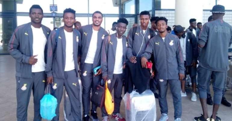 Ghana U-20 Squad Depart For 2019 Africa Games
