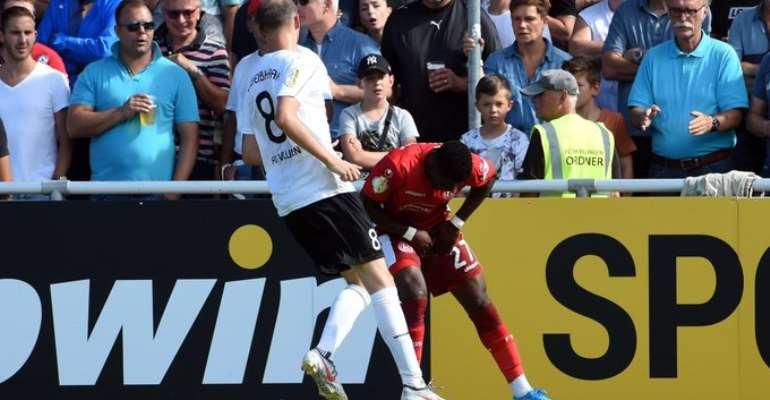German Bundesliga: Nana Ampomah To Miss Fortuna Düsseldorf's Opening Match Against Werder Bremen