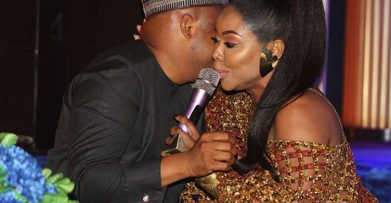 Honourable Okudzeto Ablakwa and Stephanie Benson